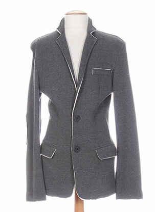 Veste casual gris PARTNER'S pour homme