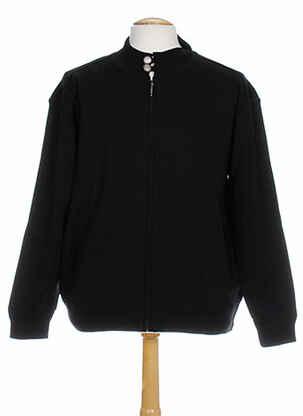 Veste casual noir QUADRO pour homme