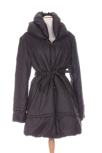 carmen manteaux femme de couleur gris