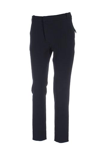 skunkfunk pantalons et decontractes femme de couleur noir