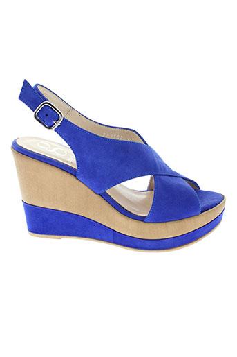 gadea sandales et nu et pieds femme de couleur bleu
