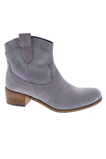 nimal boots femme de couleur gris