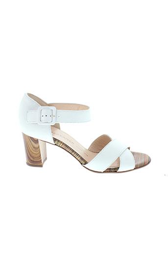 peter et kaiser sandales et nu et pieds femme de couleur blanc
