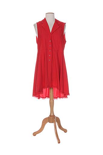 innate tuniques femme de couleur rouge