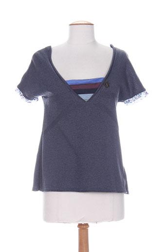 le petit baigneur chemises femme de couleur bleu