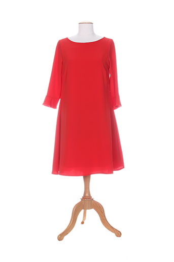 miss miss robes femme de couleur rouge