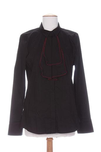 exetera chemises femme de couleur noir