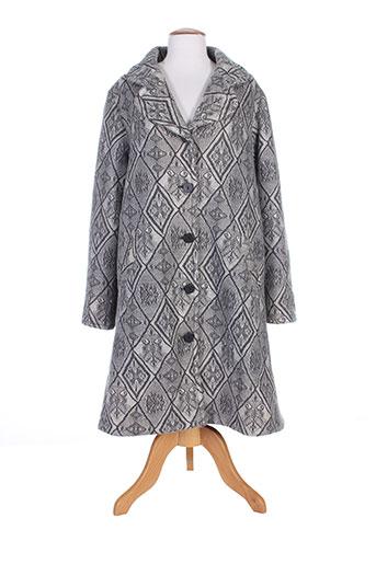 les habits de dalie manteaux femme de couleur gris