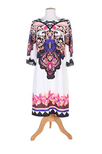 camelot robes femme de couleur blanc