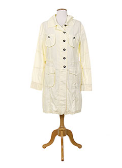 Veste casual jaune POUSSIERE D'ETOLE pour femme
