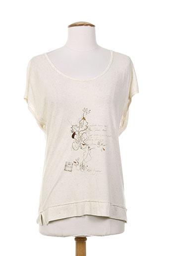 le petit baigneur t et shirts et tops femme de couleur beige