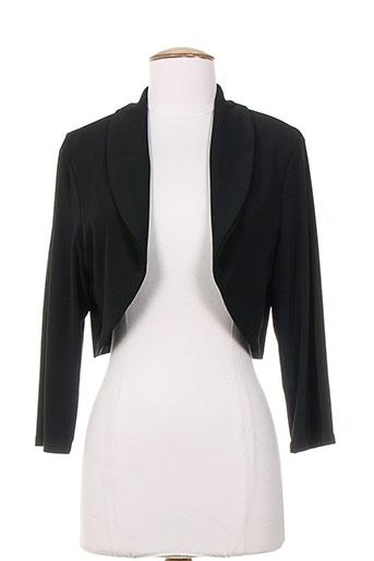 frank lyman vestes femme de couleur noir