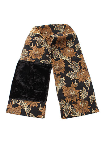 correspondant en couleur prix officiel dernière sélection de 2019 GANTEB'S Accessoires Echarpes de couleur noir en soldes pas cher  965658-noir00 - Modz