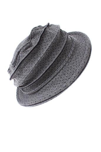berthe et aux et grands et pieds chapeaux et bonnets femme de couleur bleu