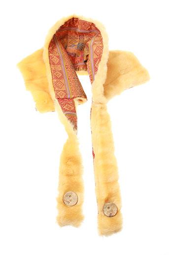 ganteb's accessoires femme de couleur orange