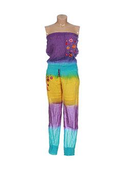 Combi-pantalon bleu GOA pour femme