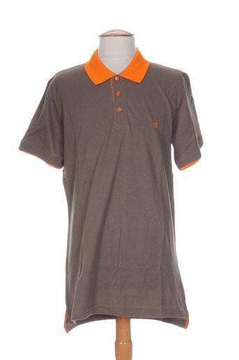 relay jeans t-shirts homme de couleur marron