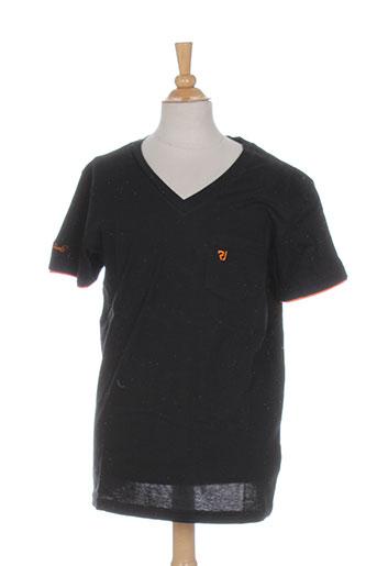 relay jeans t-shirts enfant de couleur noir