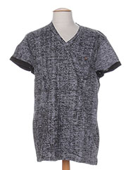 T-shirt manches courtes noir RELAY JEANS pour homme seconde vue