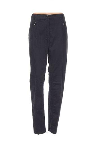 bernard et zins pantalons et decontractes femme de couleur gris