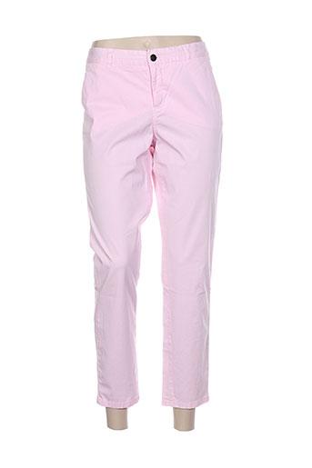 masscob pantalons femme de couleur rose