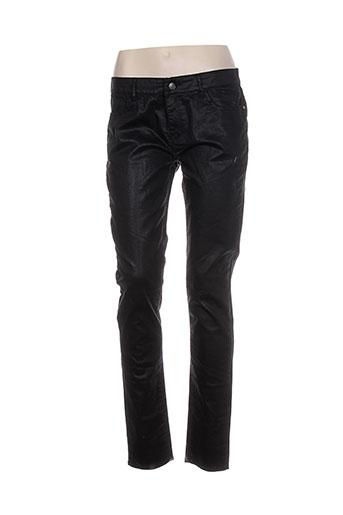 stella forest pantalons femme de couleur noir