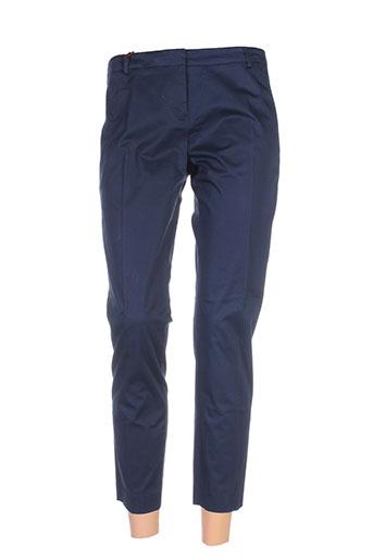 seventy pantalons et citadins femme de couleur bleu