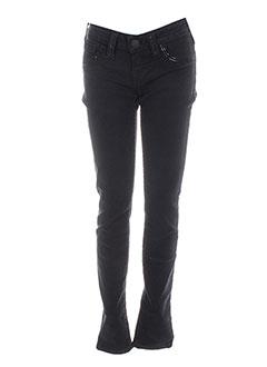 Pantalon casual noir BRAND pour femme