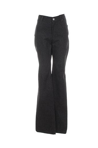 bernard zins jeans femme de couleur noir