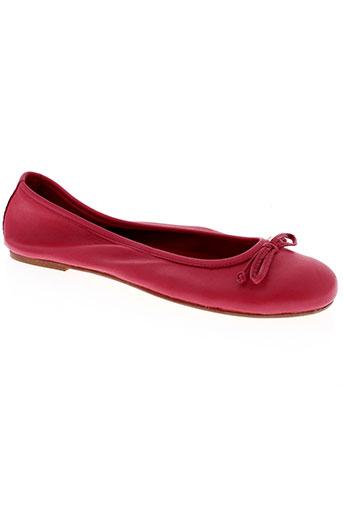 coca ballerines femme de couleur rose