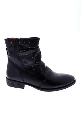 kickers boots femme de couleur noir