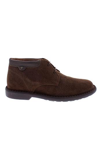 arid et by et arima boots homme de couleur marron