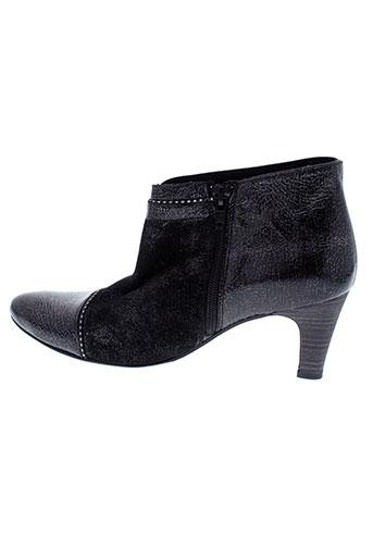 un et tour et en et ville boots femme de couleur noir