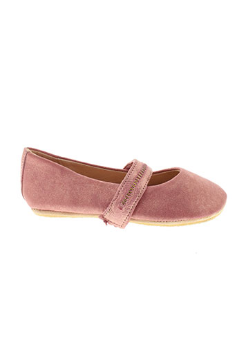 easy et peasy ballerines fille de couleur rose