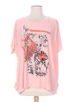 Produit-T-shirts-Femme-CHERRY BLOOM