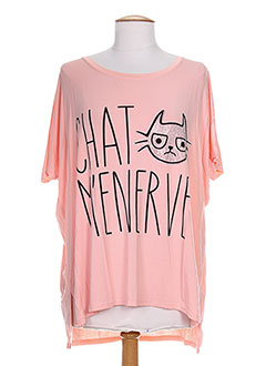 Produit-T-shirts / Tops-Femme-CHERRY BLOOM