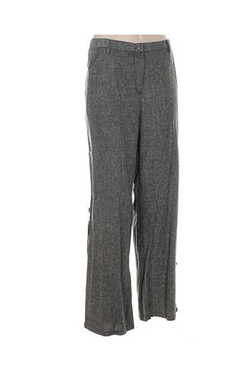 alexo pantalons et decontractes femme de couleur gris