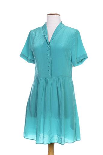 idano robes femme de couleur vert