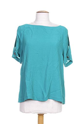 idano chemises femme de couleur vert