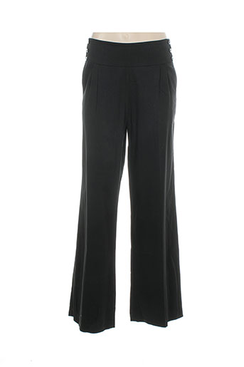 helena sorel pantalons femme de couleur noir