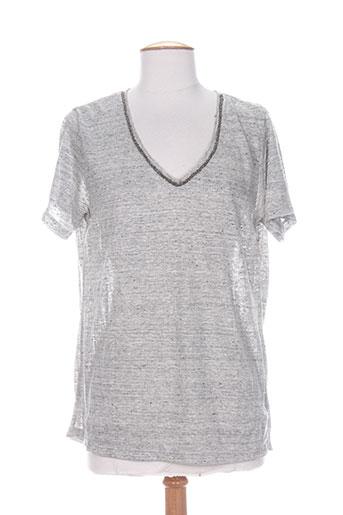 charlie joe t-shirts femme de couleur gris