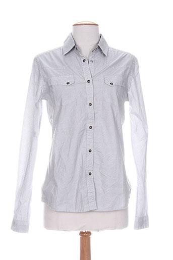 redsoul chemises femme de couleur gris