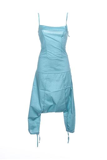 Combi-pantalon bleu TCHEKA pour femme
