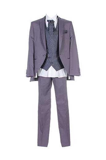 adimo costumes homme de couleur gris