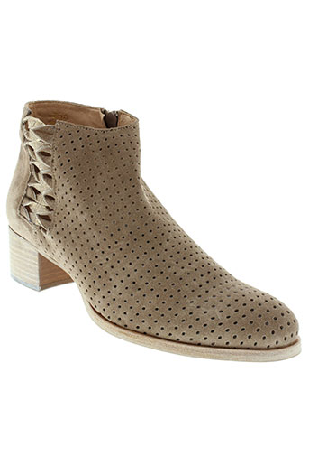 muratti boots femme de couleur beige