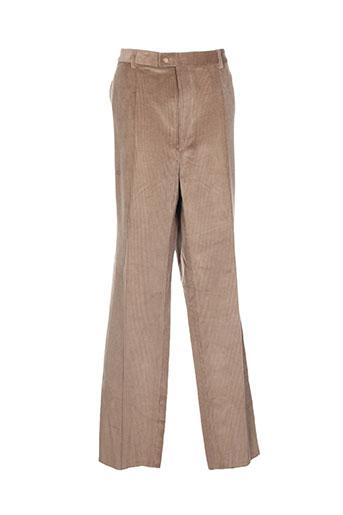 cosserat pantalons et citadins homme de couleur marron