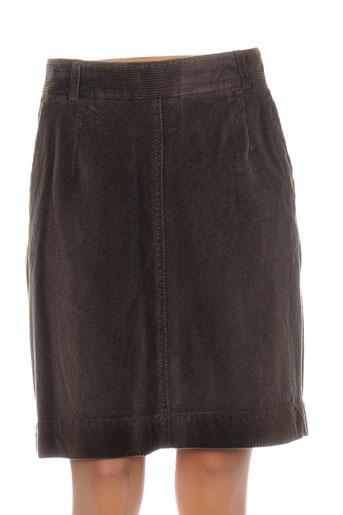 gant jupes femme de couleur marron
