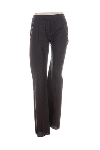 maxmara pantalons femme de couleur marron