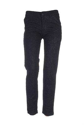 by monshowroom pantalons femme de couleur noir