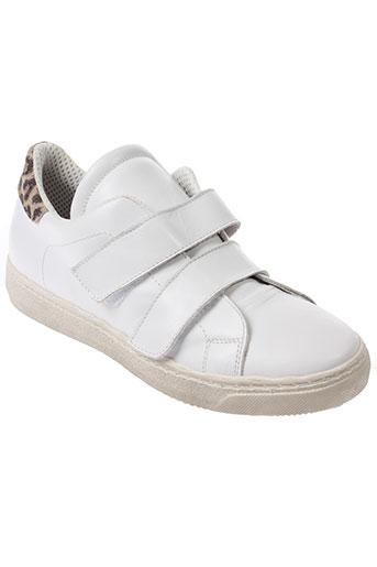 clo&se chaussures femme de couleur blanc